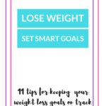 Lose Weight by Setting the Right Goals – Smart New Years Resolutions.