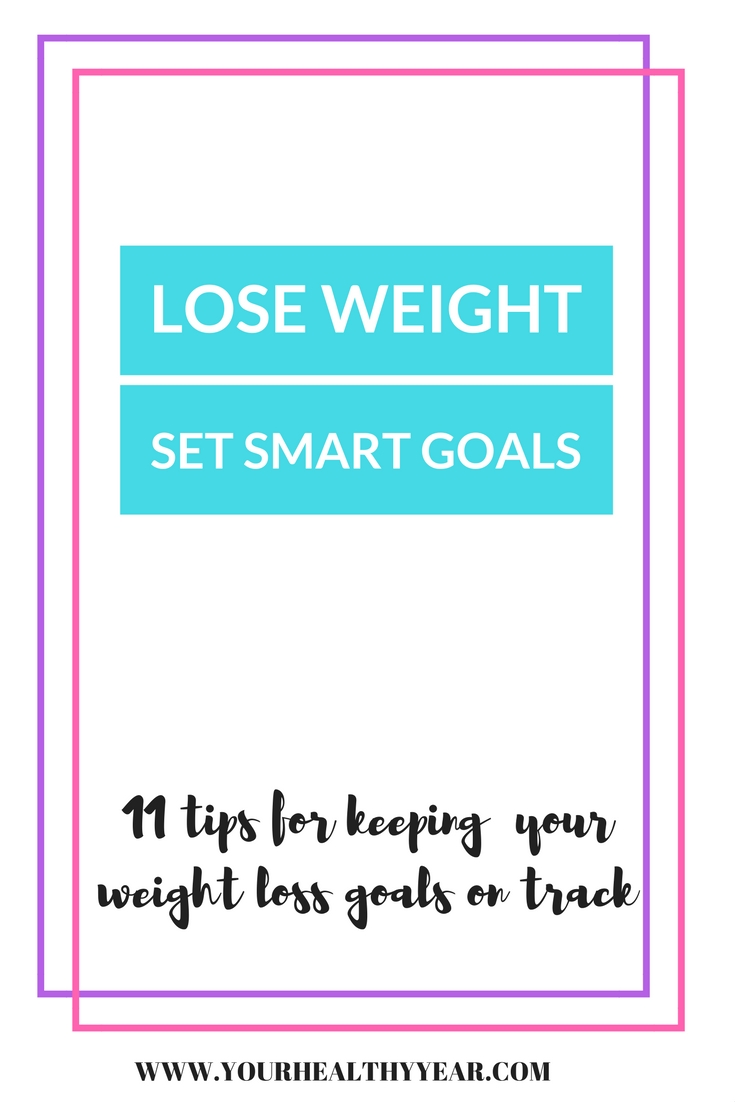 Lose Weight by Setting the Right Goals - Smart New Years Resolutions.