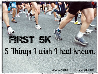 First 5k Tips