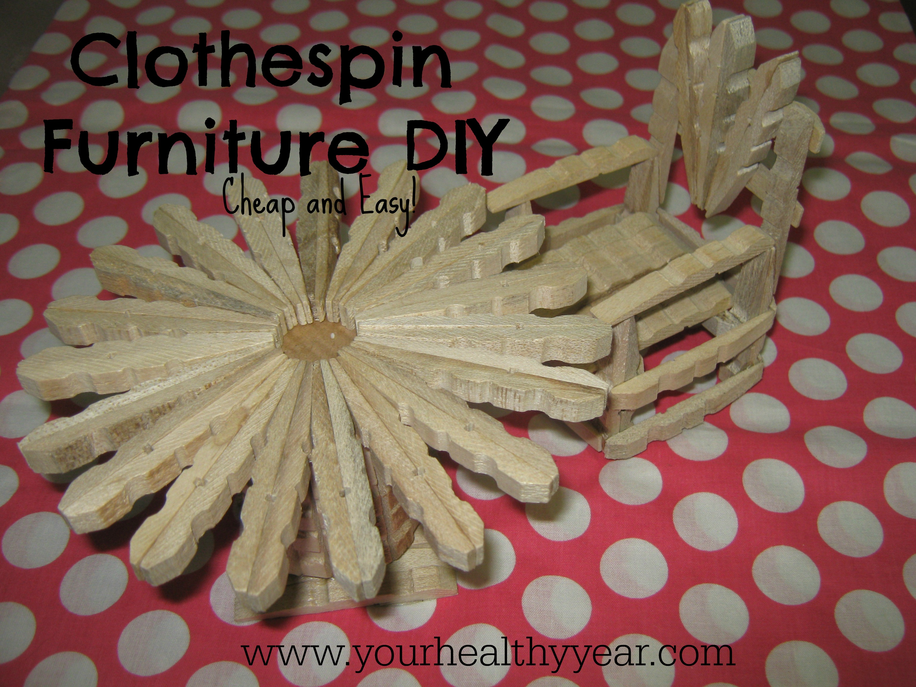 clothespin crafts diy furniture that is cute cheap and