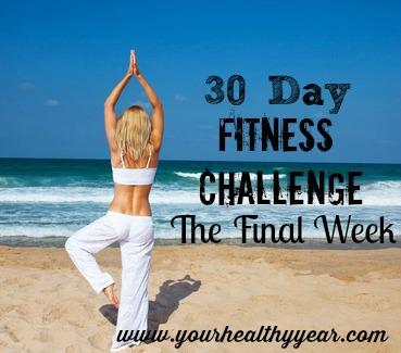 final fitness challenge