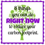 Reduce Your Carbon Foot Print Right Now!