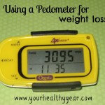 Use a Pedometer to help lose weight! #ad