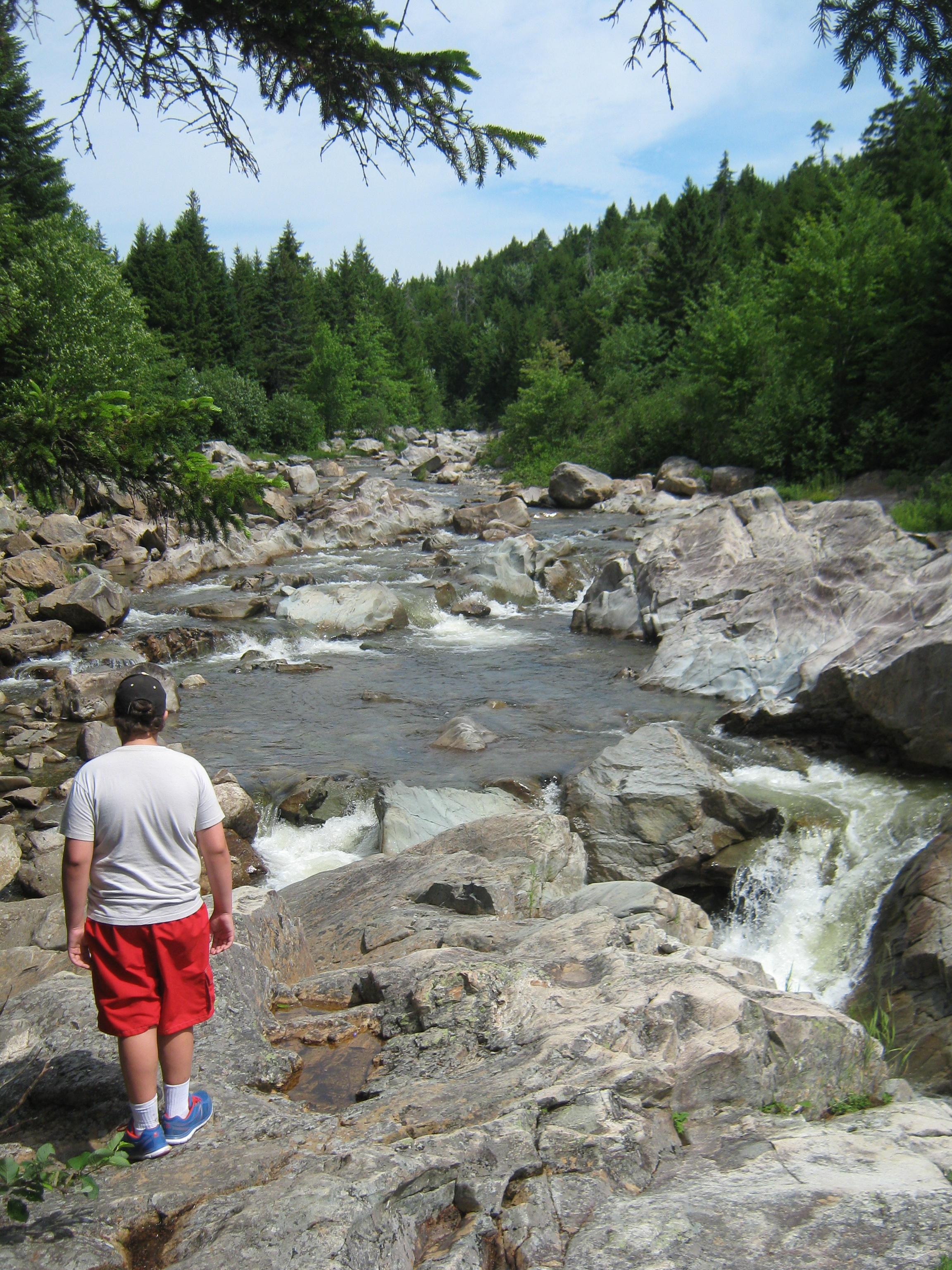 laverty falls moosehorn fundy national park nb