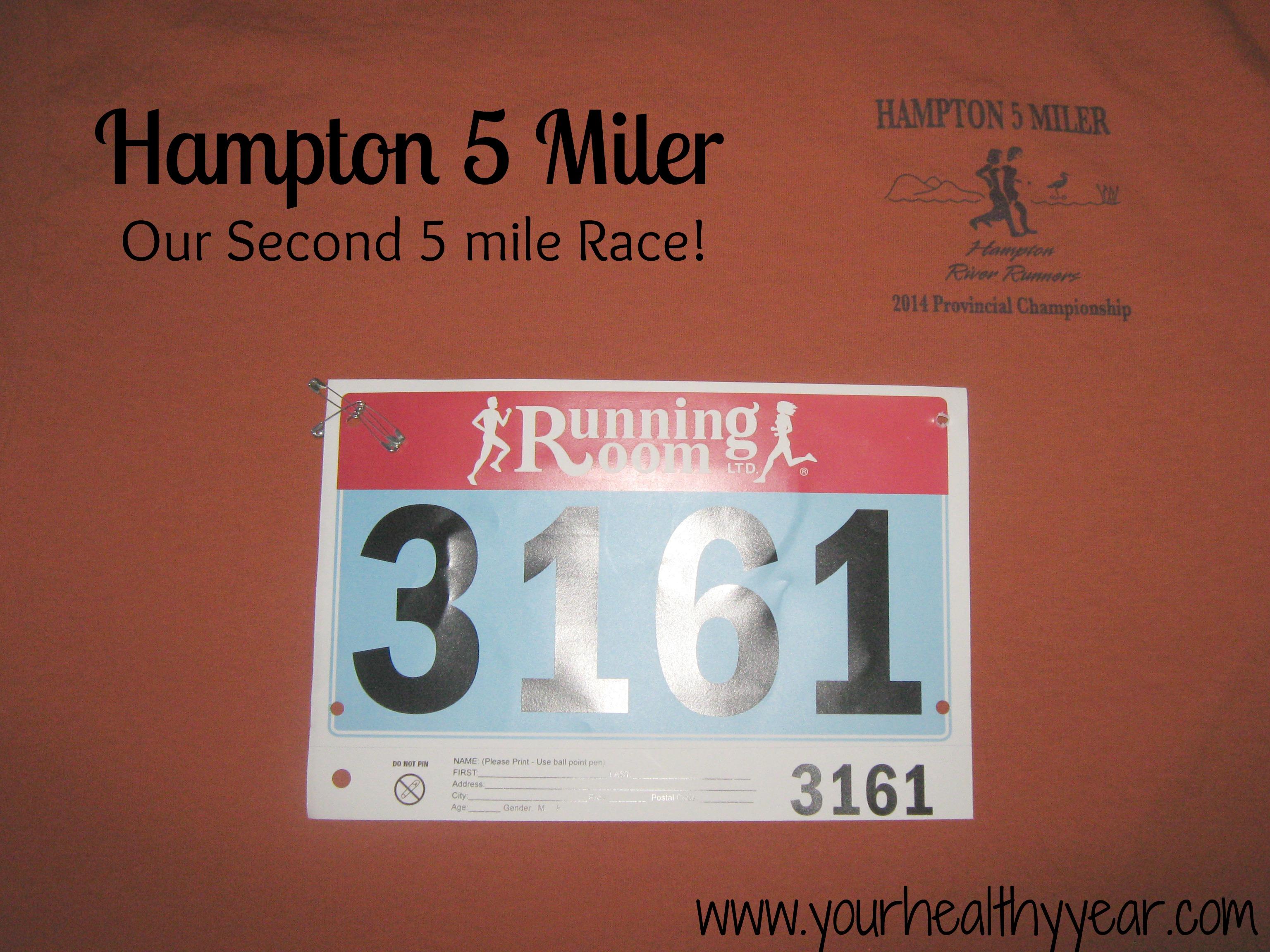 Hampton 5 Miler 2014