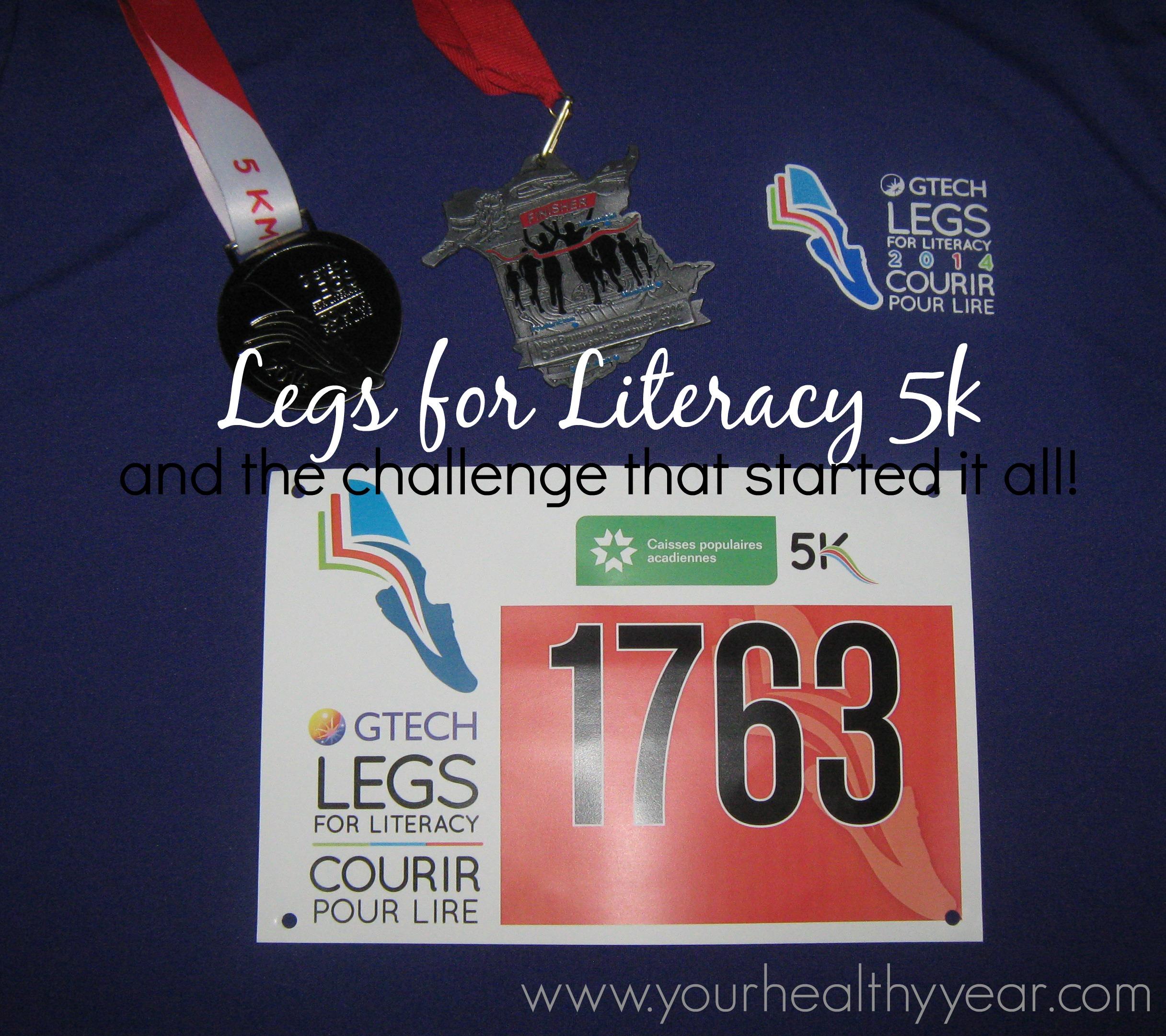 legs for literacy