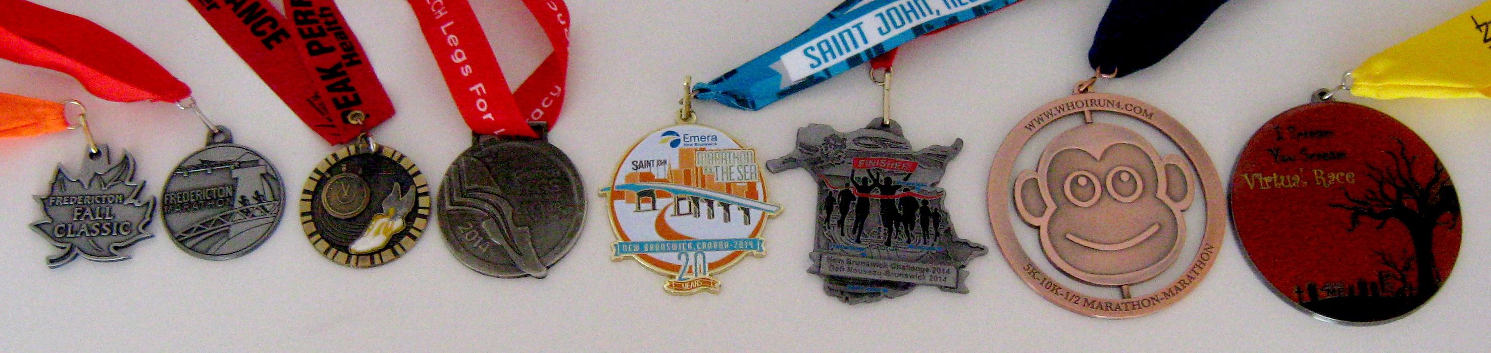 2014 medals for races