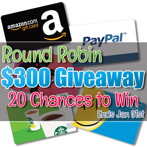 $15 round robin giveaway