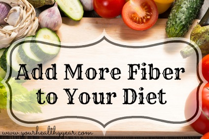 add more fiber to your diet