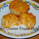 Garlic Cheese Finger Rollups