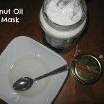 Super Easy Coconut Oil Hair Mask