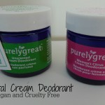 All Natural Deodorant Review #purelygreat (Giveaway Ends 04/27) #ad