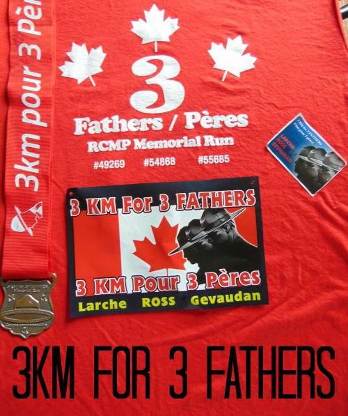 3km for 3 fathers