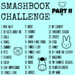 Smashbook Challenge Part II