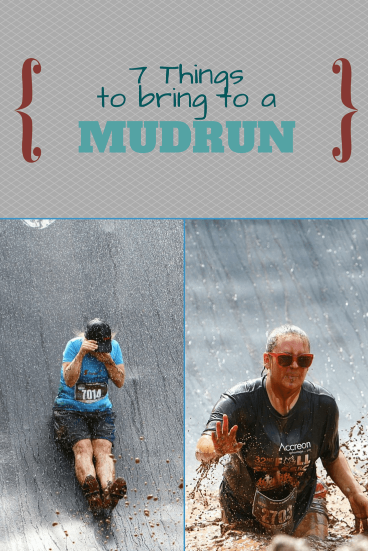 Things you need to bring to a mudrun