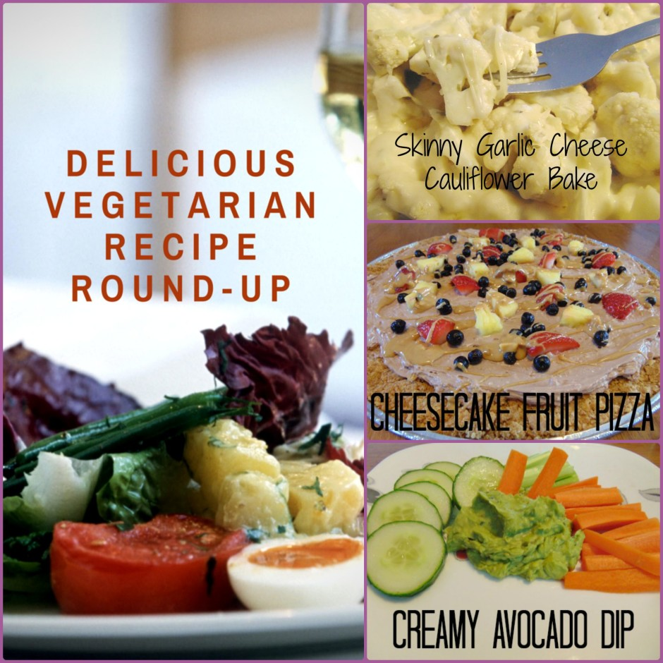 Delicious Vegetarian Recipe Round-Up