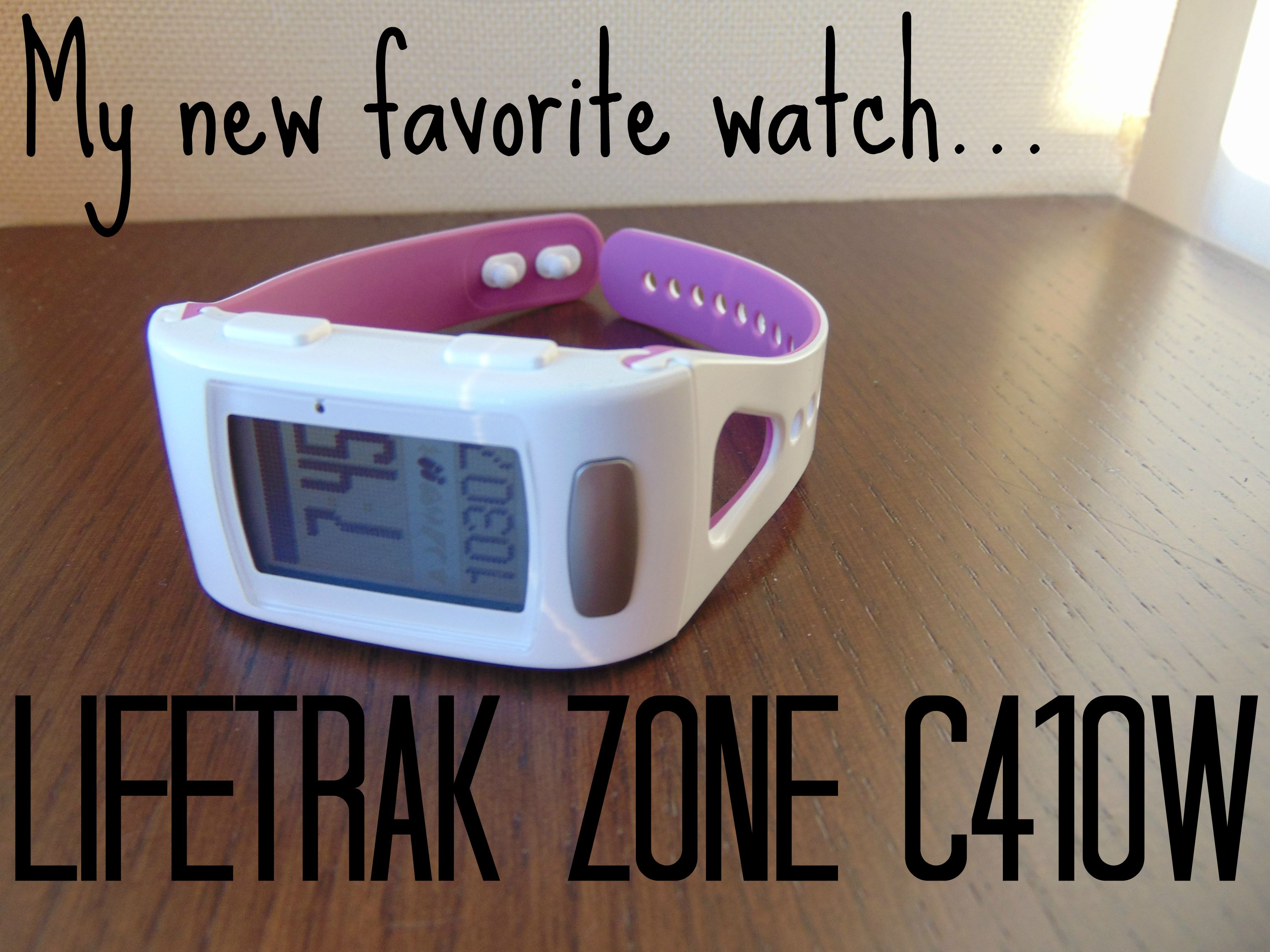 My favorite Heart Rart Monitor: Lifetrak Zone C410W