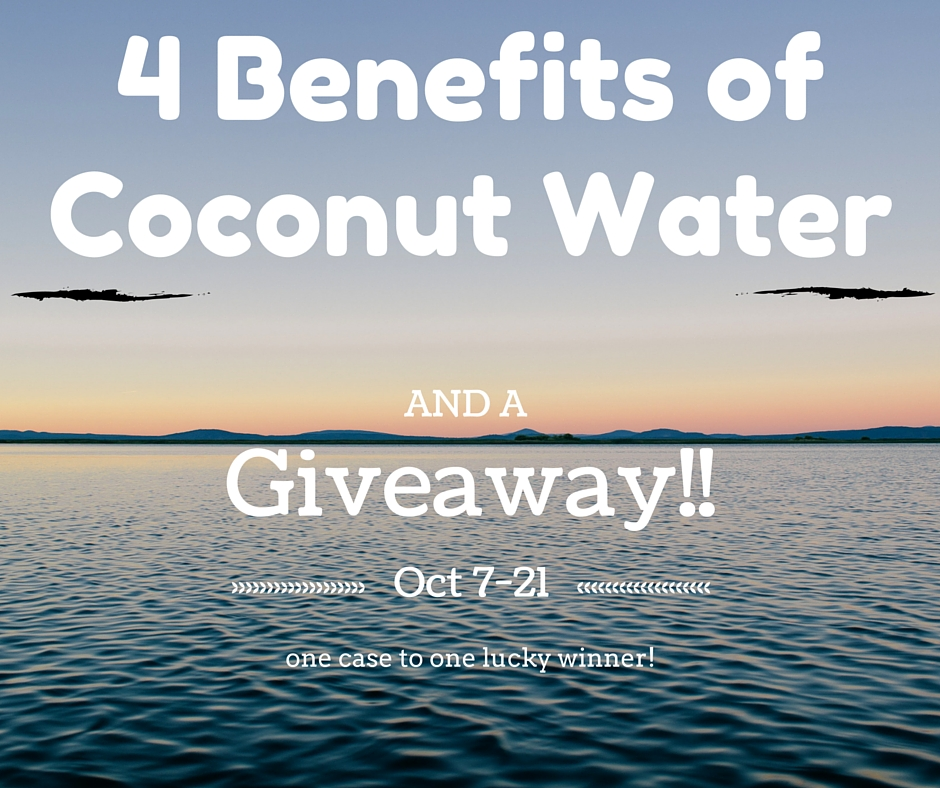 5 Benefits of Coconut Water
