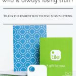 Find lost items in a flash with the Tile tracker app!