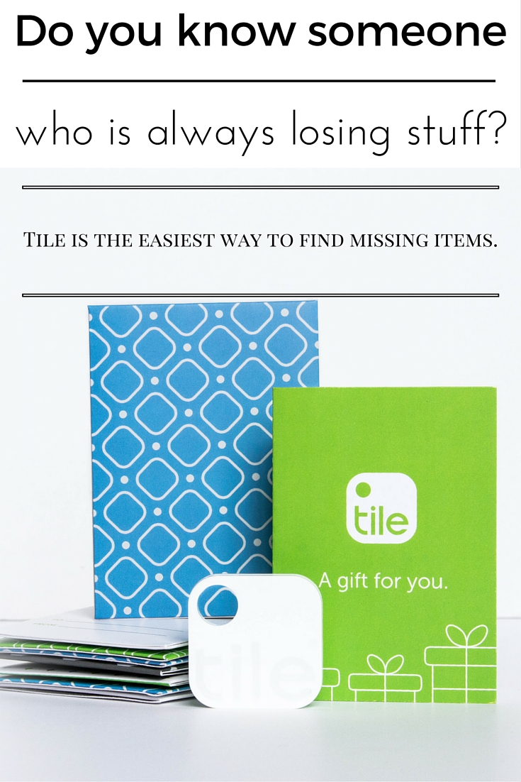 The Tile and it's tracker app will help you find your lost keys, wallet, phone, and yes, even your car!