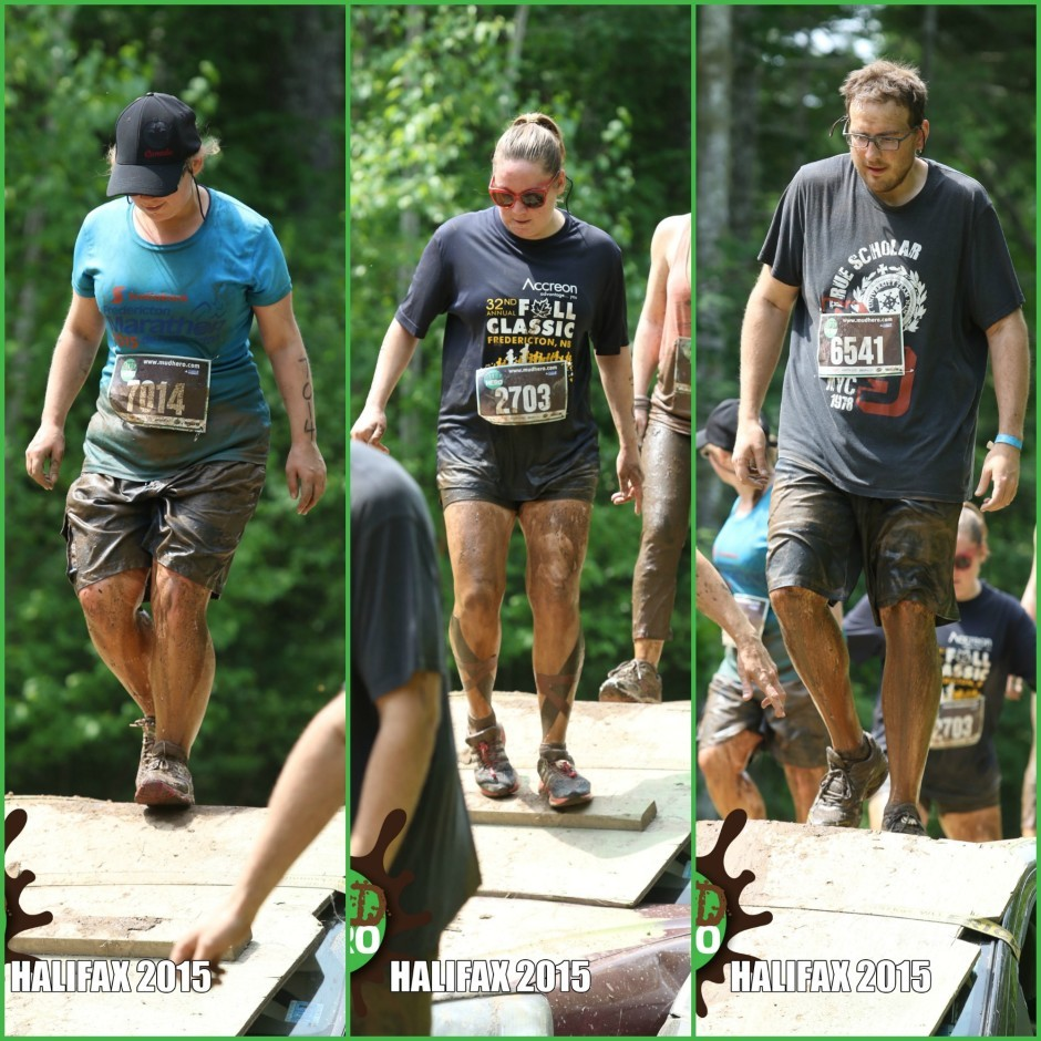 Becky, Tim, and I at the Mud Hero in Halifax! Check out my 5 goals for 2015 for more!