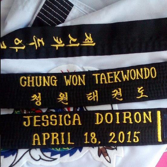 In 2015 I earned my blackbelt in Taekwondo! Come see what else I did!