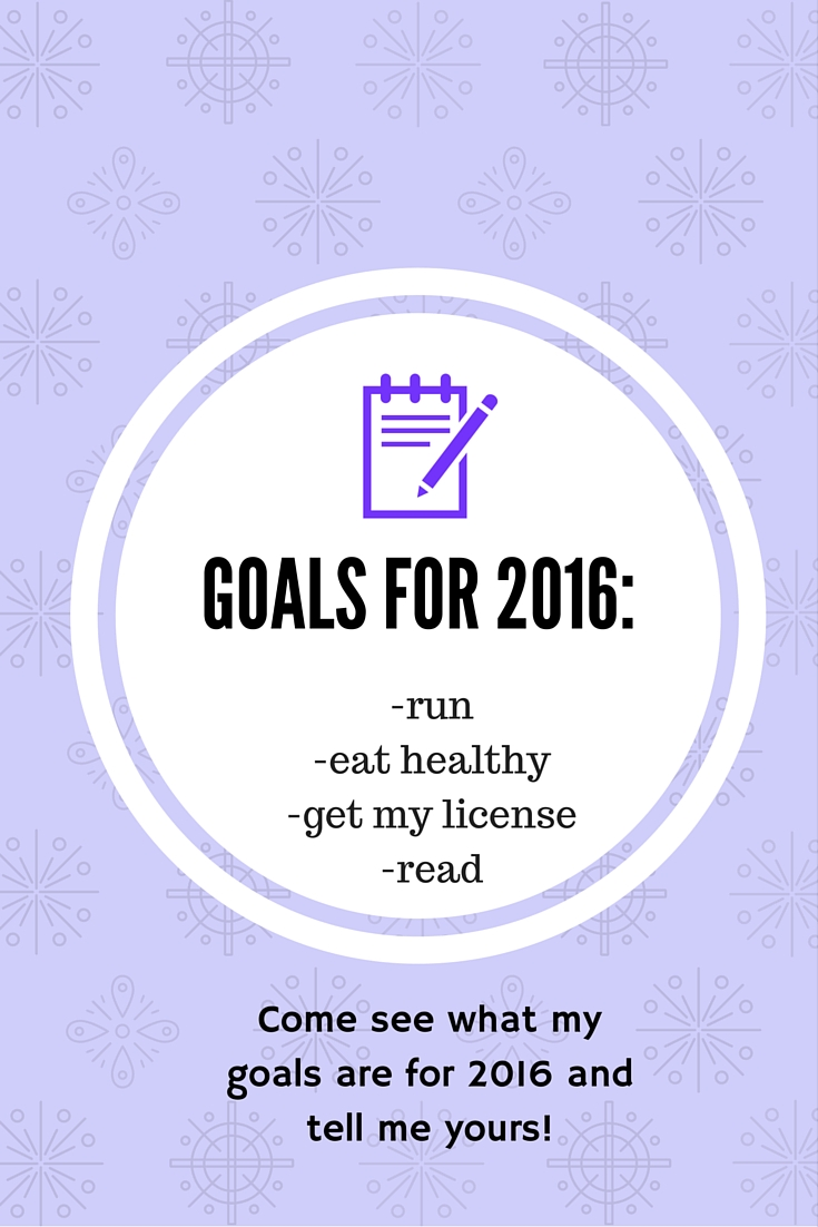 Check out my Goals for 2016! What are yours?