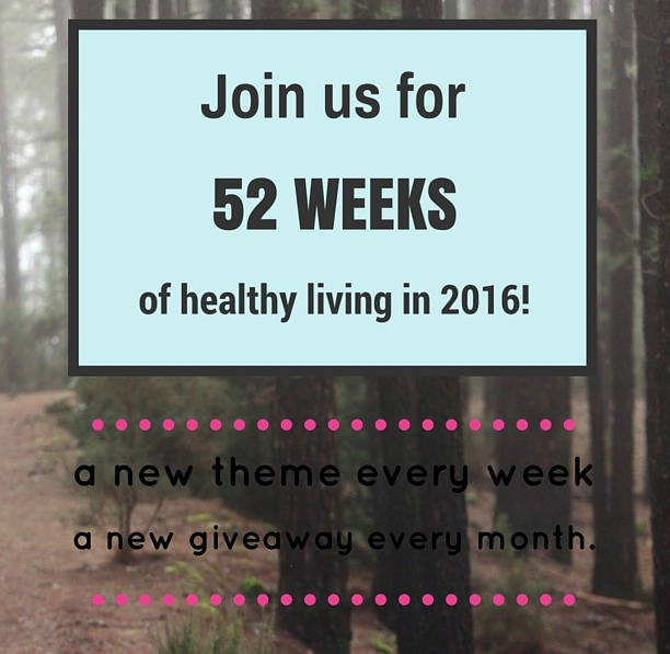 52 weeks of health in 2016!