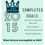 5 Completed Goals for 2015