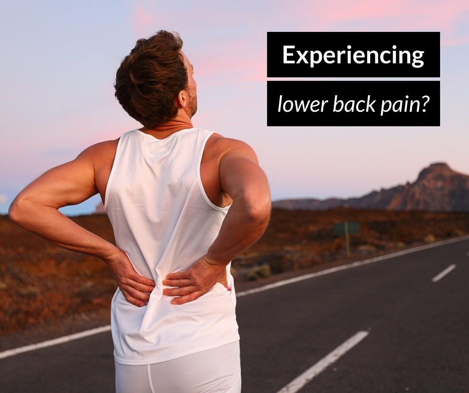 Experiencing lower back pain? This back brace can REALLY help!