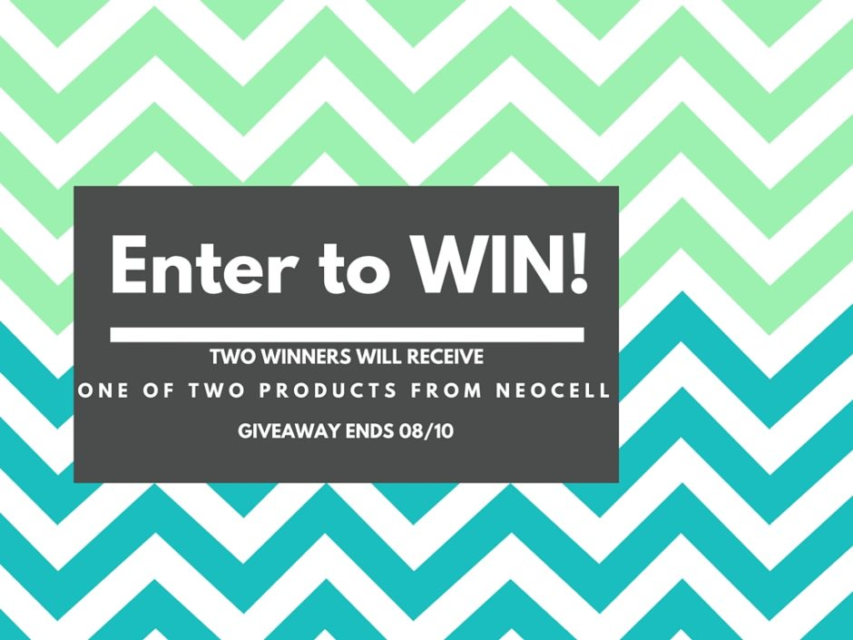 Enter for your chance to WIN a collagen supplement product from Neocell!