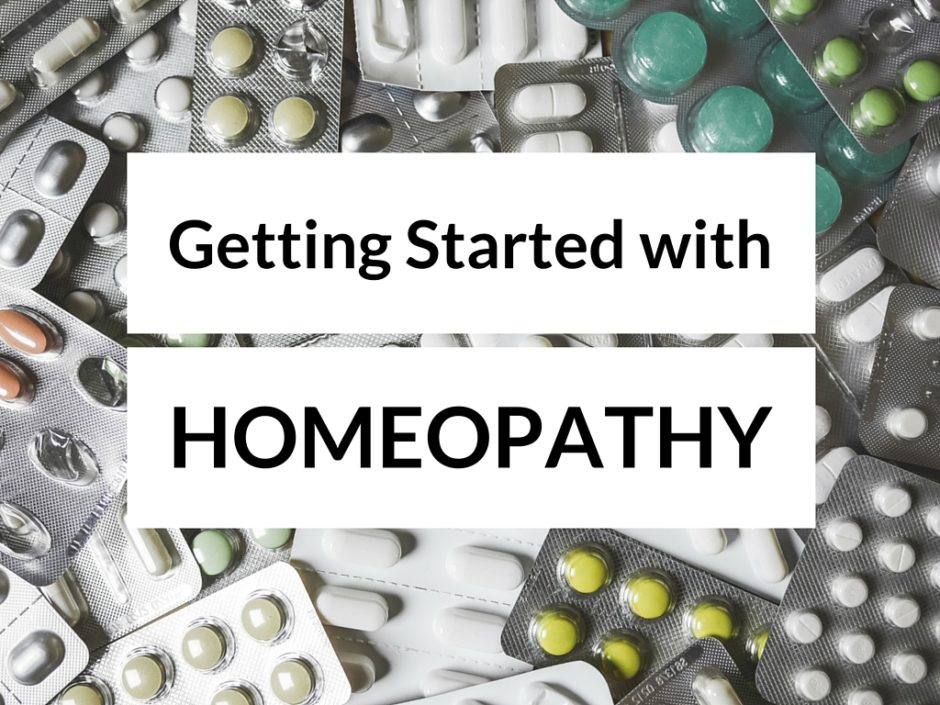 Getting Started with Homeopathy
