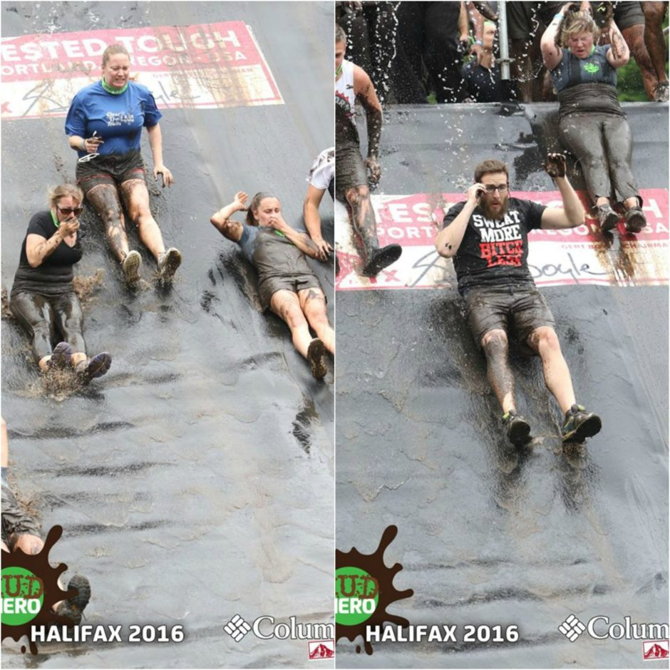 Mud Hero 2016 Slide