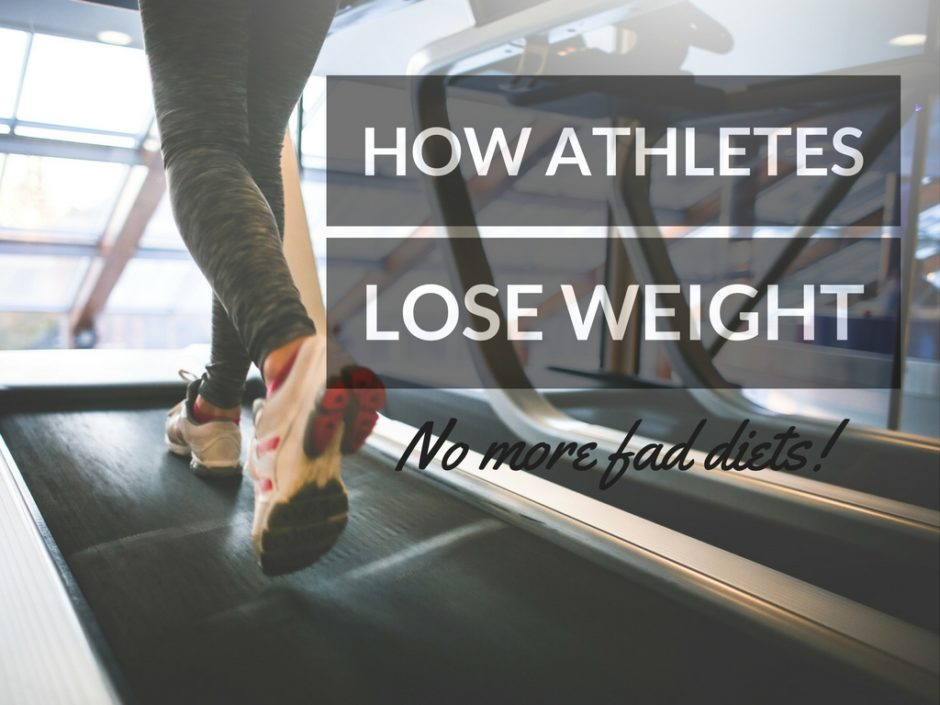 How Athletes Lose Weight