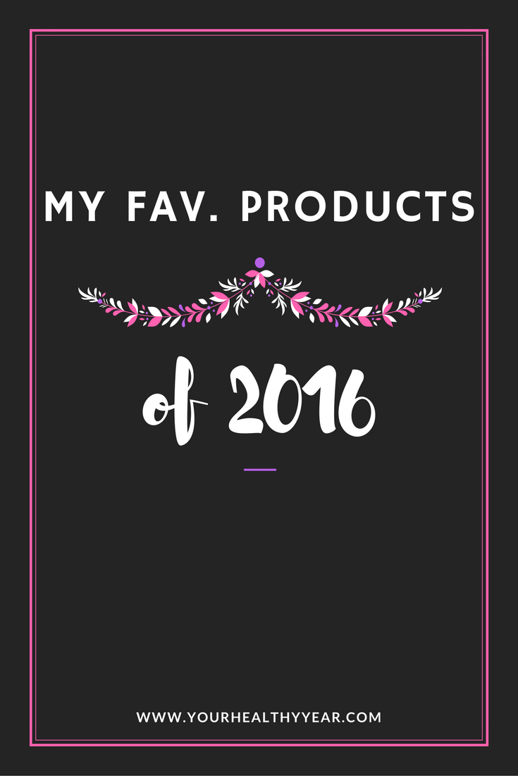 My Fav Products 2016