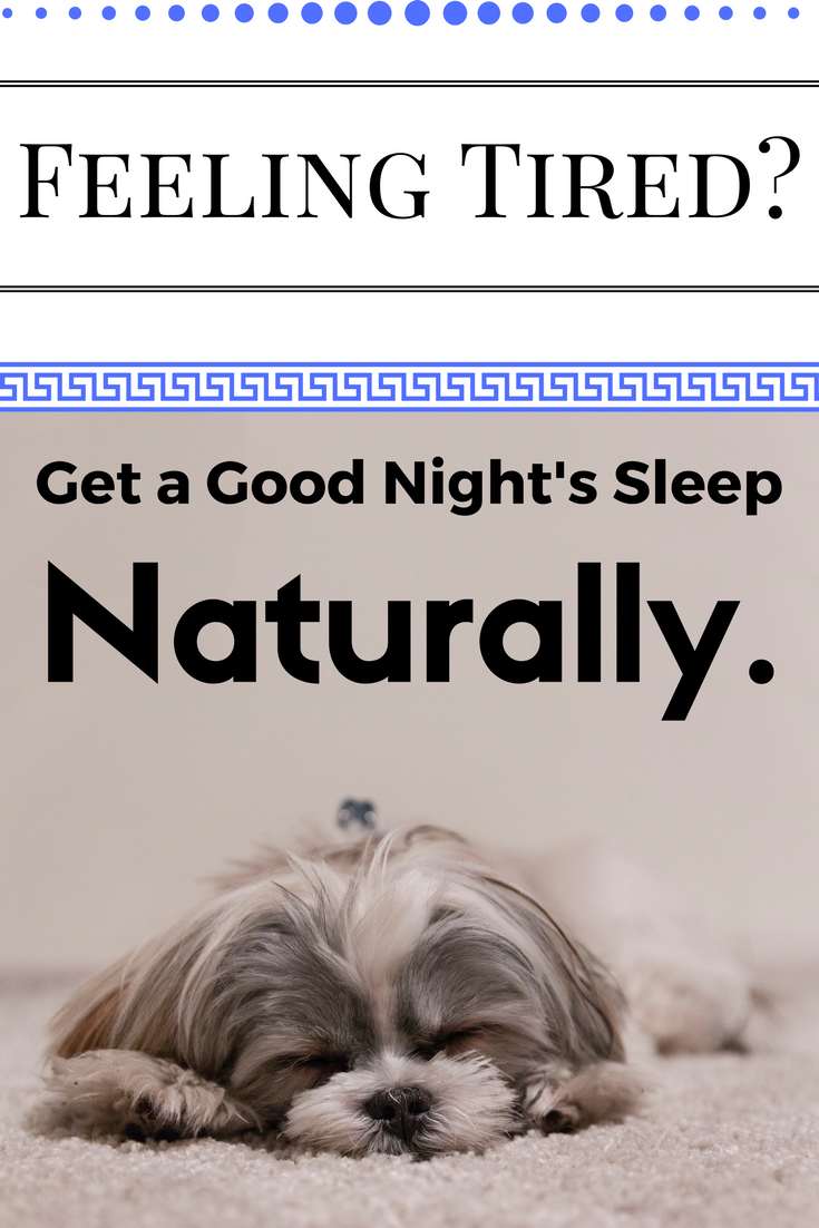 4 Tips to Getting a good nights sleep naturally!