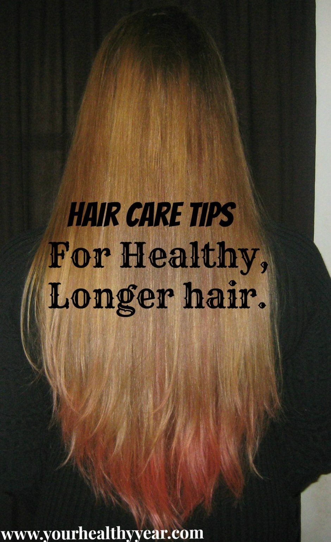 hair care tips for long hair