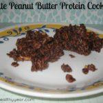 Chocolate Peanut Butter Protein Cookie Bites