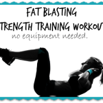 Fat Blasting Strength Training Workout