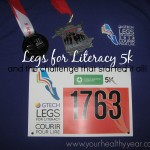 Legs for Literacy 2014 and the Challenge that started it all!