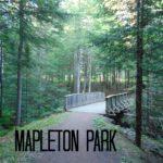 Mapleton Park Moncton N.B.