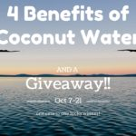 4 Benefits of Coconut Water (Giveaway Ends Oct 21st)