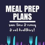 My Meal Prep Plans