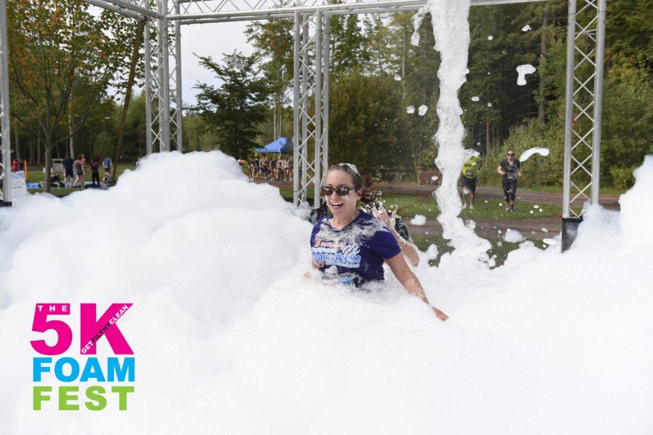 Fun at FoamFest 2017 in Moncton, NB