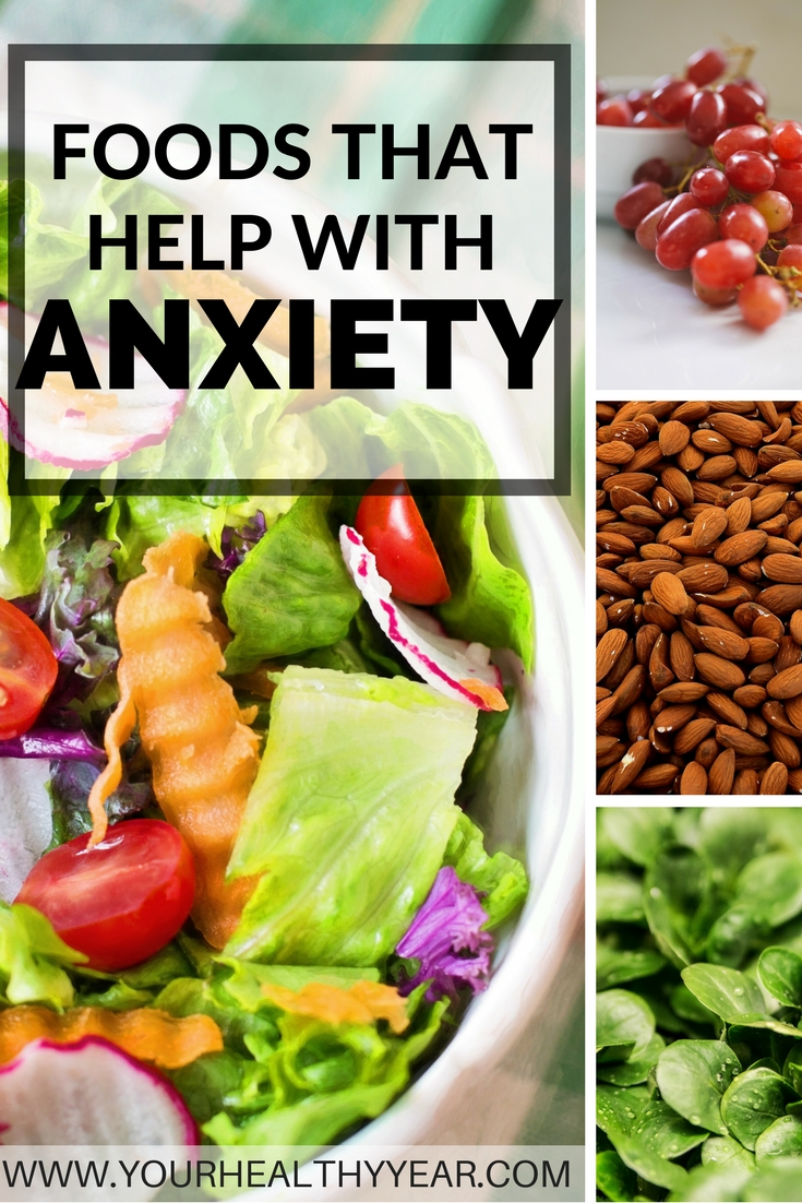 check out these 14 foods that help with anxiety.