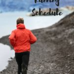 2018 Running Schedule and Distances