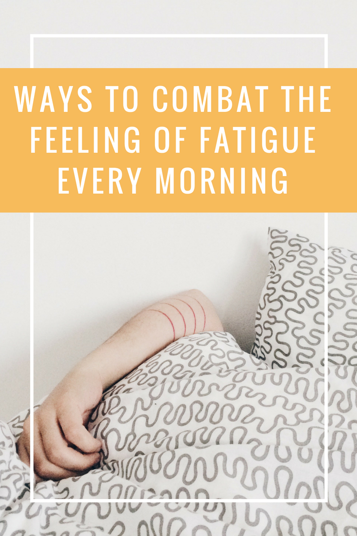 Combat Early Morning Fatigue